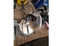 B & Q 1200w mitre/chop saw £25