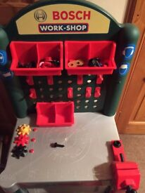 ELC Bosch Toy Workbench with Tool case