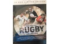 The Complete Rugby Collection. 10 DVDs