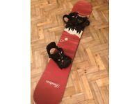 Burton Snowboard Bindings and Burton Bag