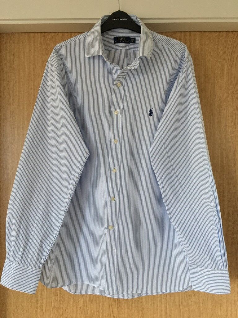 Never Used Ralph Lauren Mens Shirt Size 42 Neck Size 16 In