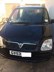 Vauxhall Agila in Black £1000