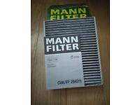 MANN AIR FILTER, PART NUMBER CUK/FP 2847/1