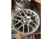 "16"" alloys Ford Fiesta/focus"
