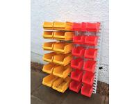 Tools and parts storage bins / boxes for your workshop or garage