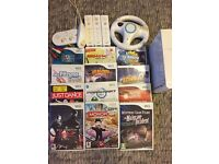 Nintendo Wii with 13 games, HD gaming cable, 3 controllers + more!!
