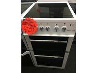 FLAVEL 50CM CEROMIC TOP ELECTRIC COOKER