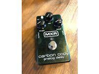 MXR Carbon Copy analogue delay