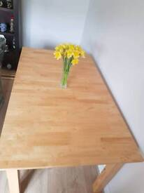 Stunning extendable dining room table