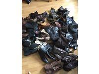 job lot bundle women's shoe boots 60 pairs