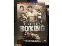 Legends of Boxing limited edition 12 DVD box set