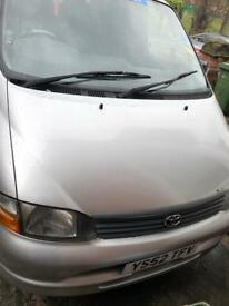 Toyota hiace 9 seater