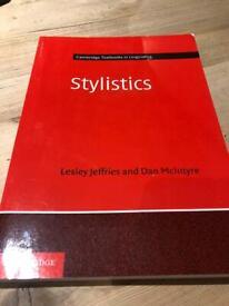 Stylistics text book