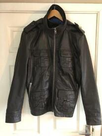 Superdry Real Leather Jacket brand new
