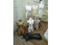 Selection of Mannequins priced Individually or make me an offer for the lot