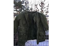 Swedish Army Sheepskin Lined Coat, Thermal, Dutch Goretex Lined Jackets, ideal for Keeper, Farmer