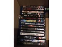 Blu ray films £1.50 each