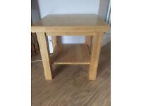 Lovely oak lamp table for sale