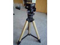 Bilora camera tripod with manfrotto quick release mount