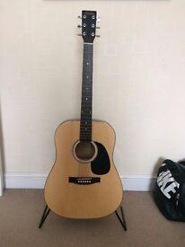 Valeta Acoustic Guitar And Tuner