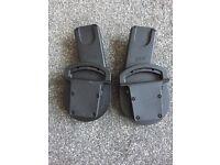 Mamas and papas car seat adaptors zoom/Sola/urbo cybex/maxi-cosi/besafe