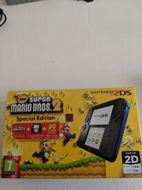 Nintendo 2DS with Mario