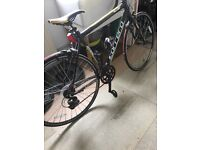Smart carrera road bike . Barely been used . Great condition.