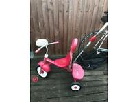 Kids radio flyer tricycle