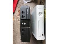 Xbox 360 and original Xbox sold as untested so only £10 for both
