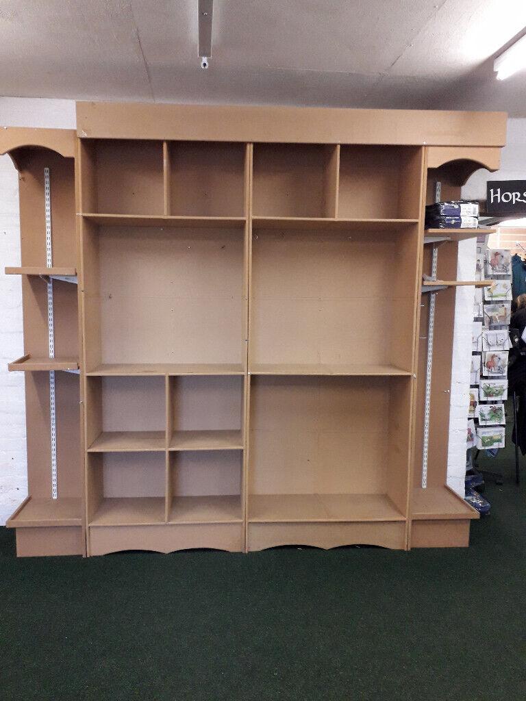 Wooden Shop Display Wall Unitshelving In Arnold Nottinghamshire Gumtree