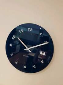 Karlsson glass wall clock