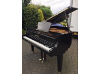 Black baby grand piano| Zimmerman| Belfast Pianos |