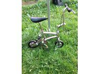 Circus/monkey bicycle