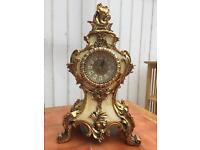 Vintage Style Table Clock