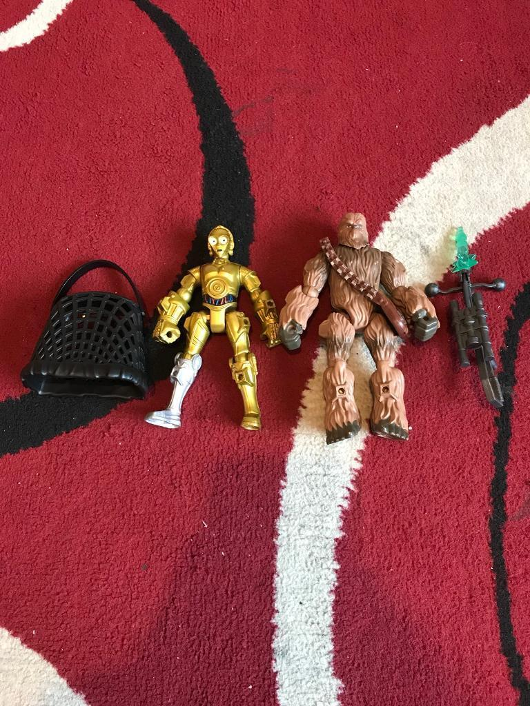 Star Wars hero mashers c3p0 and chewy. Street, Somerset £10.00