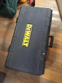 Dewalt suitcase flat top