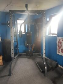 BodyMax Smith Machine with Lat Pulldown/Pec Dec