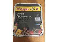 Instant barbecue pack of 16 75p each