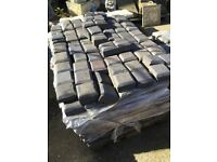 'Double block' paving blocks