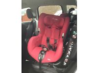 Maxi cosi axis red car seat