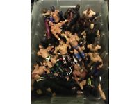 WWE figures - bundle of 50
