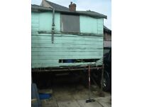 Wooden Garden Shed in need of love and repair
