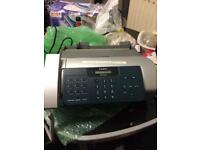 Fax & phone machine