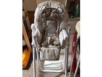 Baby's high chair. Only one previous baby. All parts included