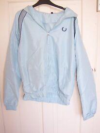 Pale blue mens medium lightweight jacket