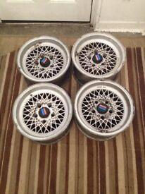 Mahle BBS E12 m535i Alloy wheels