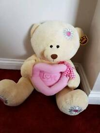 Large very soft teddy bear. New with tags