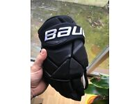 Bauer 1x gloves 13""