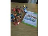 XBOX SKYLANDER SWAP AND FORCE WITH FIGURES