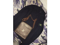 Stone Island cardigan XL & LV/Loui Vuitton Bag (NEED GONE BY TODAY!!)